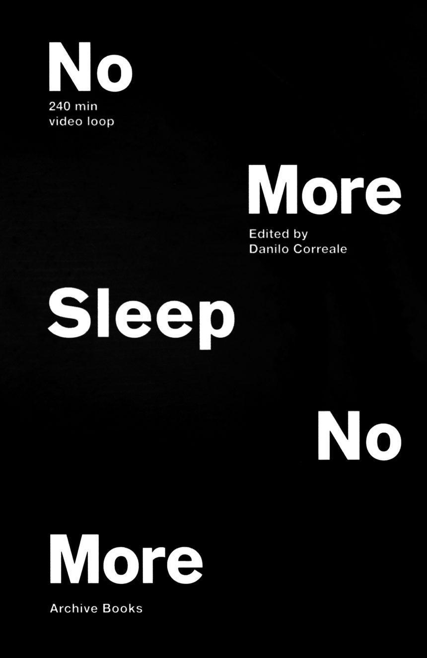 No More Sleep No More