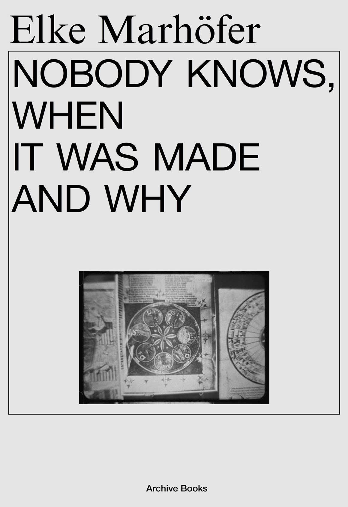 Nobody Knows, When it Was Made and Why